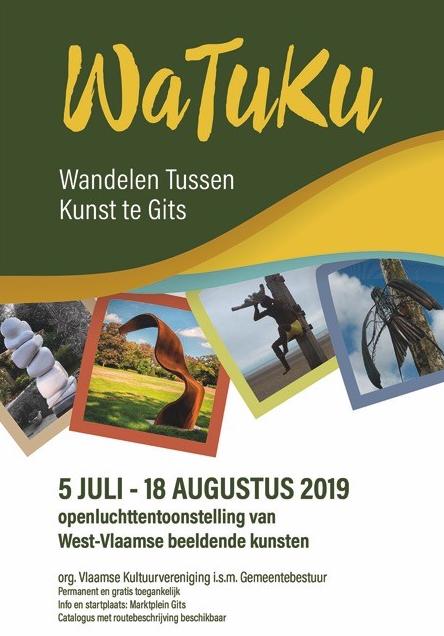 Watuku: openluchttentoonstelling met monumentaal werk.